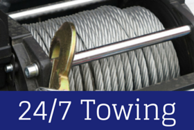 24/7 towing icon